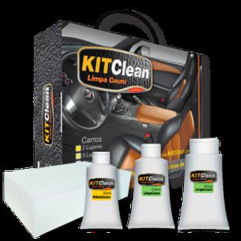 Kit Clean- Limpa Couro - Kit Clean - Kit Clean - Unitário