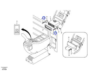 Arruela de Pressão - Volvo CE - 9213-04000 - Unitário