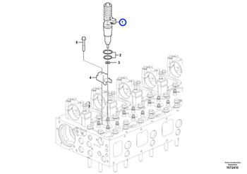 Injetor REMAN - Volvo CE - 9021371672 - Unitário