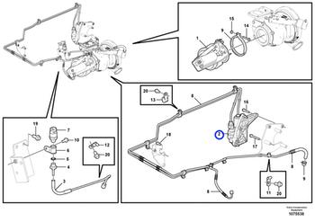 Válvula de Ar - Volvo CE - 21707054 - Unitário