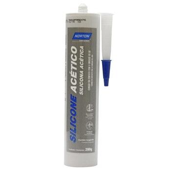 Silicone Acético 400g - Norton - 66261156029 - Unitário