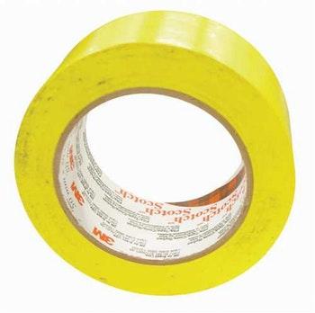 Fita Isolante Imperial Amarela 18mm x 10m - 3M - HB004297949 - Unitário