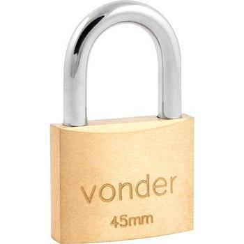 Cadeado de Latão 45 mm - Vonder - 32.11.045.000 - Unitário