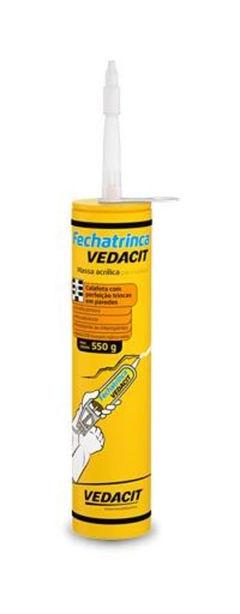 Fechatrinca Vedacit Cartucho 550g - Vedacit - 111109 - Unitário