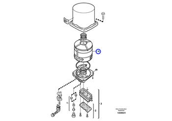 Filtro Secador - Volvo CE - 20546795 - Unitário