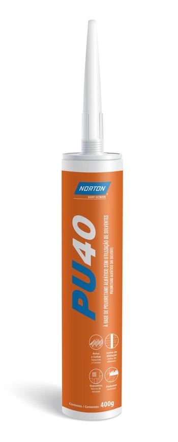 PU40 cinza 400g - Norton - 66261156026 - Unitário