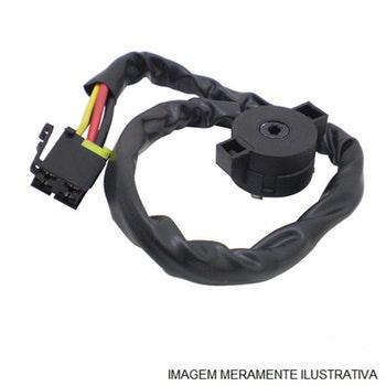 Comutador elétrico de ignição e partida da Trava de direção - Original Scania - 1425019 - Unitário