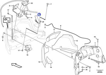 Pedal Do Acelerador - Volvo CE - 15187973 - Unitário