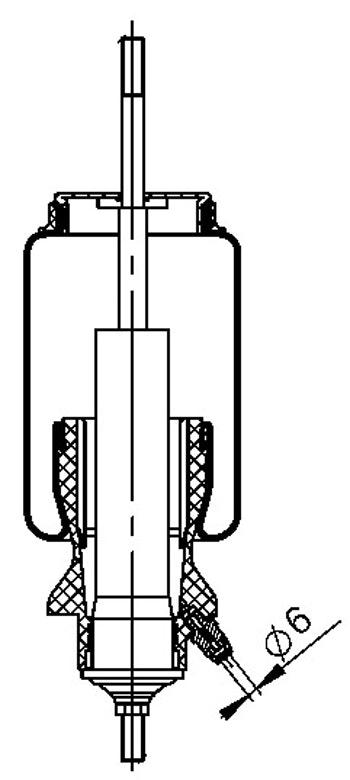 Mola da Cabine - Contitech - 73947 - Unitário
