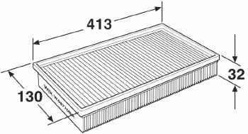 Filtro de Ar - WIX - W48770BR - Unitário