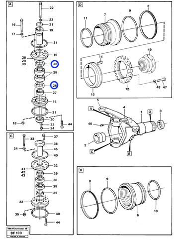 Vedação Radial - Volvo CE - 11190761 - Unitário