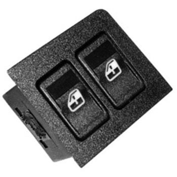 Moldura com Tecla Acionadora do Vidro Dupla - Universal - 90129 - Unitário