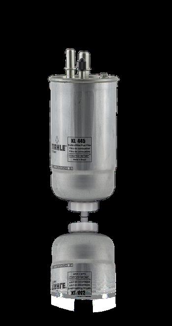 Filtro de Combustível - MAHLE - KL445 - Unitário