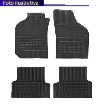 Tapetes Automotivos Pretos - Borcol - 1414141 - Kit