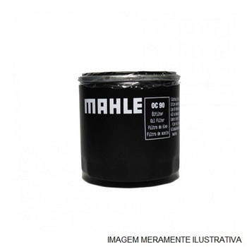 Elemento do Filtro de Óleo - MAHLE - OX199D - Unitário