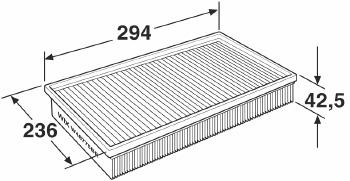 Filtro de Ar - WIX - W48775BR - Unitário
