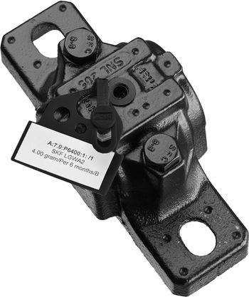 50 tampas e identificadores pretos + 2 folhas de etiquetas adesivas para impressão - SKF - TLAC 50/Z - Unitário