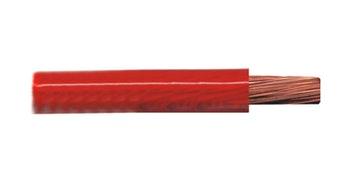 Cabo Flex Cristal Vermelho para Som Profissional - HFX 600 CC 50 - DNI - HFX 600CC50 - Unitário