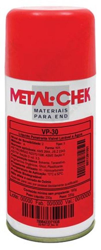 Líquido Detecção de Trinca 230g - Metal-Chek - VP-30 HI - Unitário