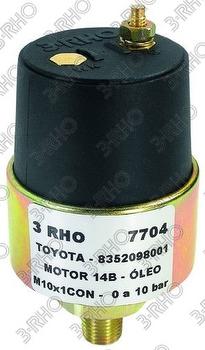 Sensor de Pressão do Óleo - 3-RHO - 7704 - Unitário