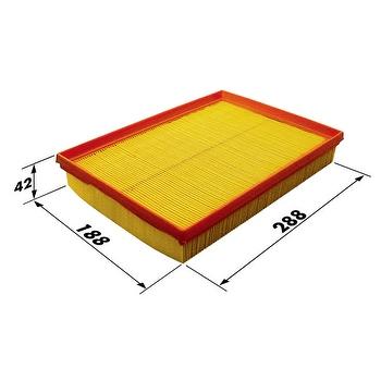 Filtro de Ar - WIX - W48835BR - Unitário