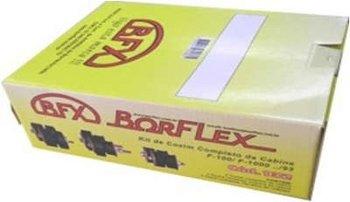 Kit Completo de Coxins da Cabine e Radiador - BORFLEX - 132 - Kit