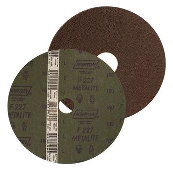 Disco de fibra metalite F224 grão 80 115x22mm - Norton - 66261199711 - Unitário