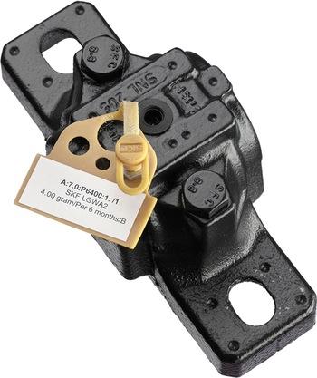 50 tampas e identificadores amarelos + 2 folhas de etiquetas adesivas para impressão - SKF - TLAC 50/Y - Unitário