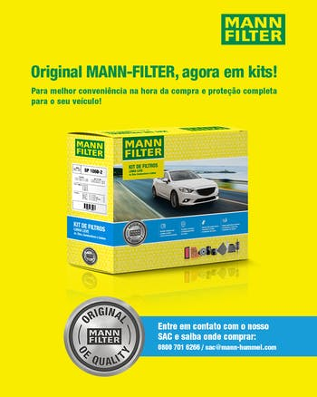 KIT Original MANN-FILTER - GM Onix (2012-2019) e GM Prisma (2013-2019) - Mann-Filter - SP1060-4 - Kit