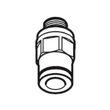Tubo de conexão macho G1/8 - SKF - LAPF M1/8 - Unitário