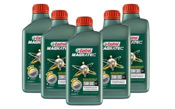 Kit de Óleo para Motor Castrol MAGNATEC A5 - 5W/30 - Castrol - 33965775 - Unitário