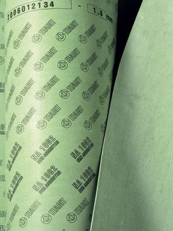 Papelão Hidráulico NA 1002 - Grafite Espessura 3,20mm Folha 1,5x1,6mm - Teadit - NA-1002-1/8 - Unitário