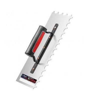 Desempenadeira Dentada de Aço Temperado 35 x 12cm - Atlas - AT245 - Unitário