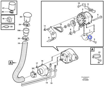 Luva Espaçadora - Volvo CE - 11130278 - Unitário