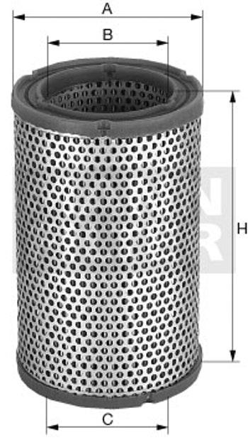 Filtro de Ar - Mann-Filter - C 21 470 - Unitário