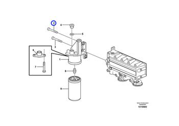 Parafuso - Volvo CE - 20450801 - Unitário