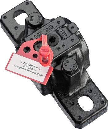 50 tampas e identificadores vermelhos + 2 folhas de etiquetas adesivas para impressão - SKF - TLAC 50/R - Unitário