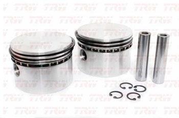 Pistões com Anéis - TRW - RREB00106 - Kit