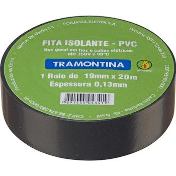 Fita Isolante Preta - 5M - Tramontina - 57540005 - Unitário