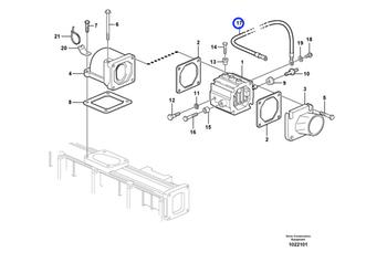 Cabo - Volvo CE - 20498532 - Unitário