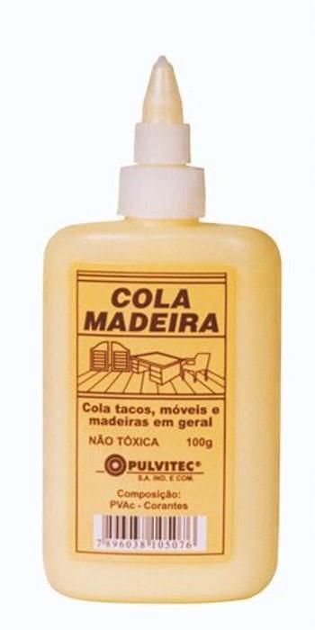 Adesivo PVA para Madeira 100g - Pulvitec - IA022 - Unitário
