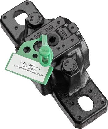 50 tampas e identificadores verdes + 2 folhas de etiquetas adesivas para impressão - SKF - TLAC 50/G - Unitário