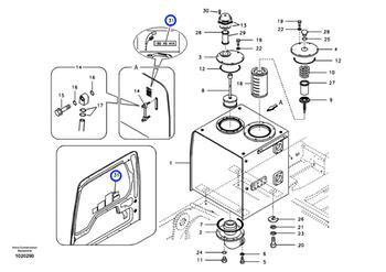 Decalque - Volvo CE - 14527173 - Unitário