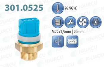 Interruptor Térmico do Radiador - Iguaçu - 301.0525-92/97 - Unitário