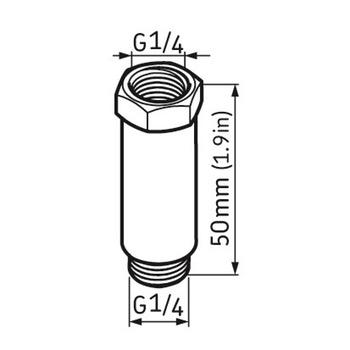 Extensão 50 mm - SKF - LAPE 50 - Unitário