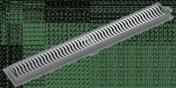 Ralo Linear 70cm Grelha Cromada - Tigre - 100018912 - Unitário