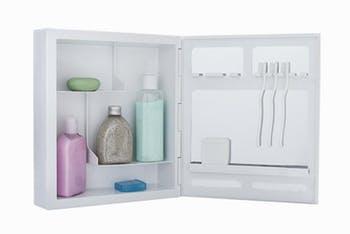 Armário Plástico de Sobrepor Branco 35,8 x 31 x 9,4cm - Astra - A42*BR1 - Unitário