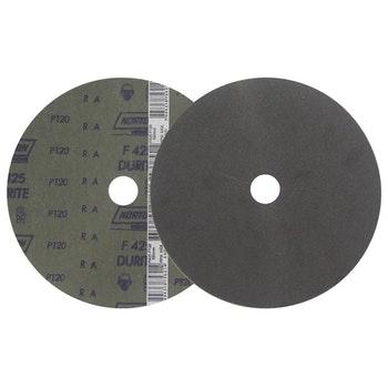 Disco de fibra durite F425 grão 120 180x22mm - Norton - 66261161497 - Unitário