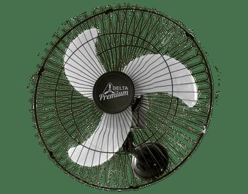 Ventilador de Parede Premium com Grade de Aço Preto 60cm Bivolt - Venti-Delta - 73-6425 - Unitário