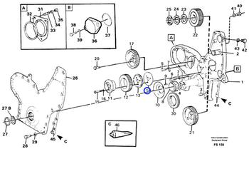 Arruela Trava - Volvo CE - 478951 - Unitário